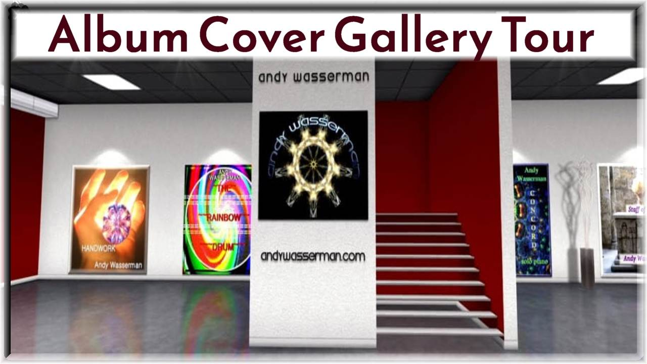 Andy Wasserman Gallery Tour Video Thumbnail Text Web