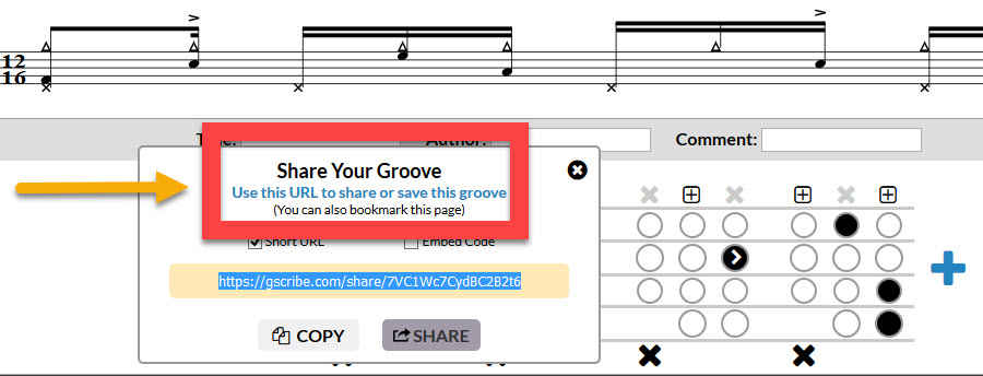 Groove Scribe explained share