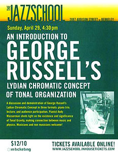 Konsep Lydian Chromatic of Tonal Organization dari George Russell