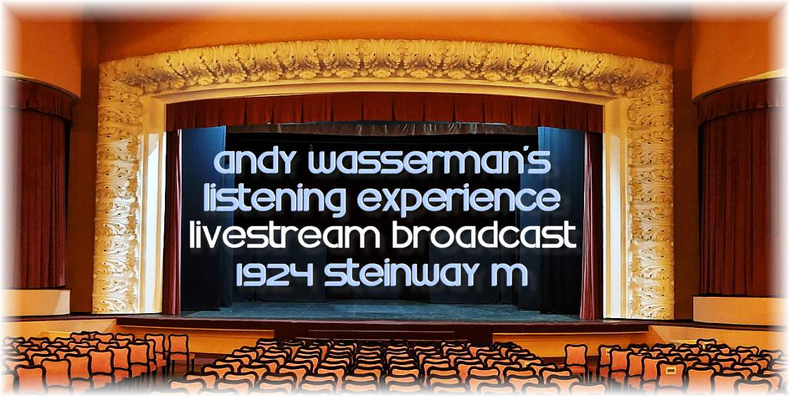 Andy Wasserman Livestream Top Image συν