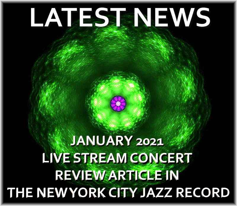 Januar 2021 Gjennomgang av Live Stream-konsert i New York City Jazz Record Magazine