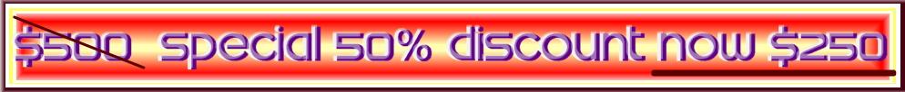 سعر شعار الحفلات المخصصة مع الخصم