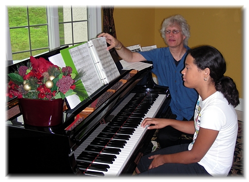 Andy Wasserman piano lesson