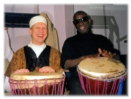 Papa Ladji Camara ja poika